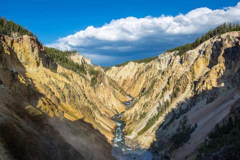 One Day in Yellowstone National Park