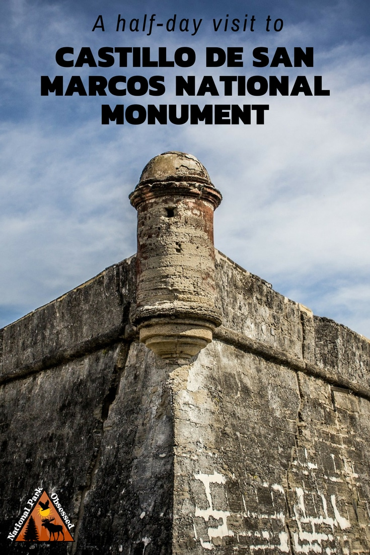 Explore the Spanish history of St. Augustine, Florida with a visit to Castillo de San Marcos National Monument. The masonry fort has stood the test of time.  #CastillodeSanMarcos #Florida #NationalMonument #findyourpark #fort #history #historicalsite #StAugustine