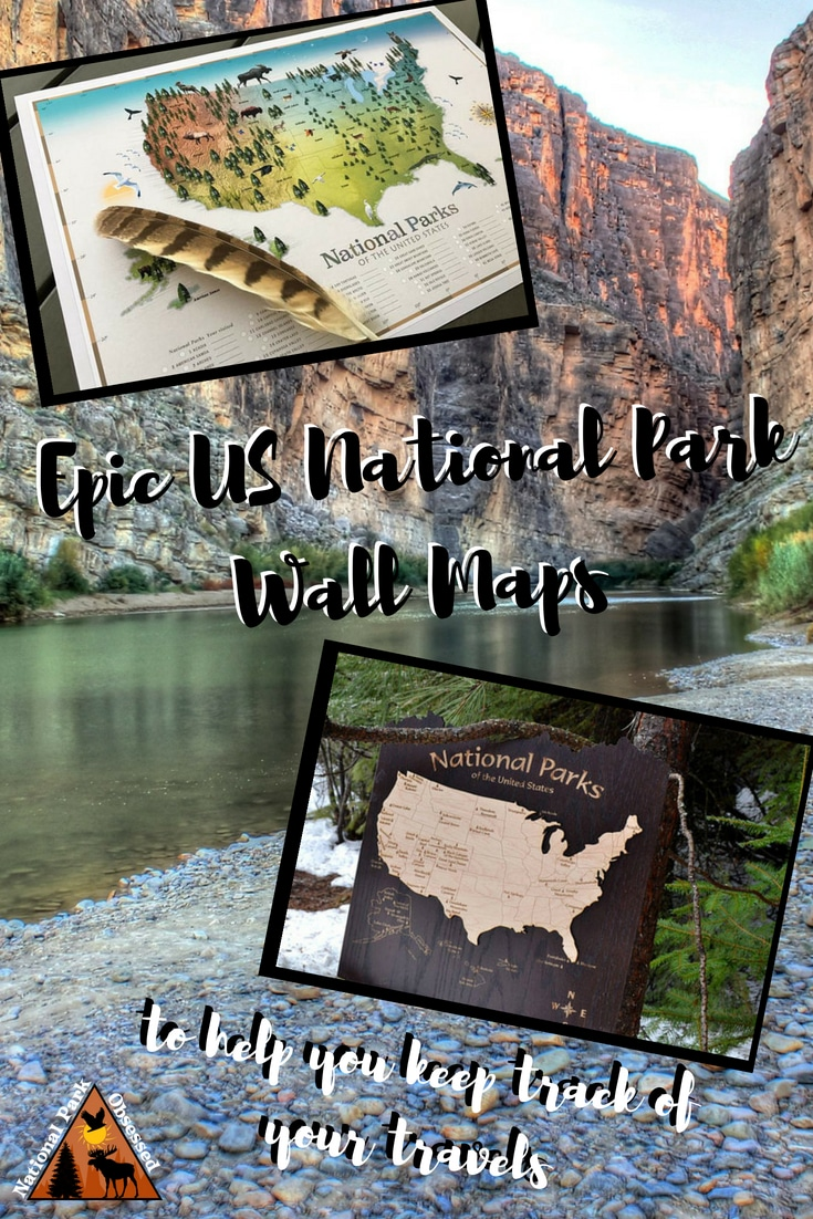 Looking to track your progress thru the National Parks?  Consider getting a US National Park Wall Map to share your park journey with your guests.