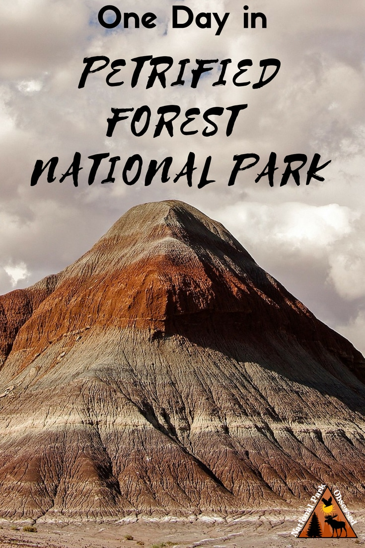 Heading down Historic Route 66 and planning to stop at the Petrified Forest? Check out how to spend one day in Petrified Forest National Park, Arizona. #arizona #PetrifiedForest #PetrifiedForestNPS #PetrifiedForestNationalPark #Petrified #RoadTrip