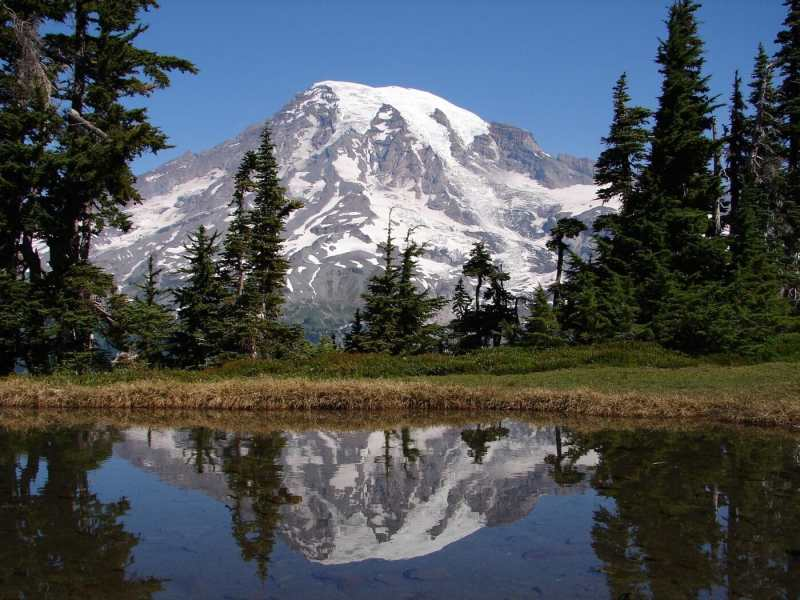 Things not to Miss on Your First Visit to Mount Rainier - Mount Rainier Reflection