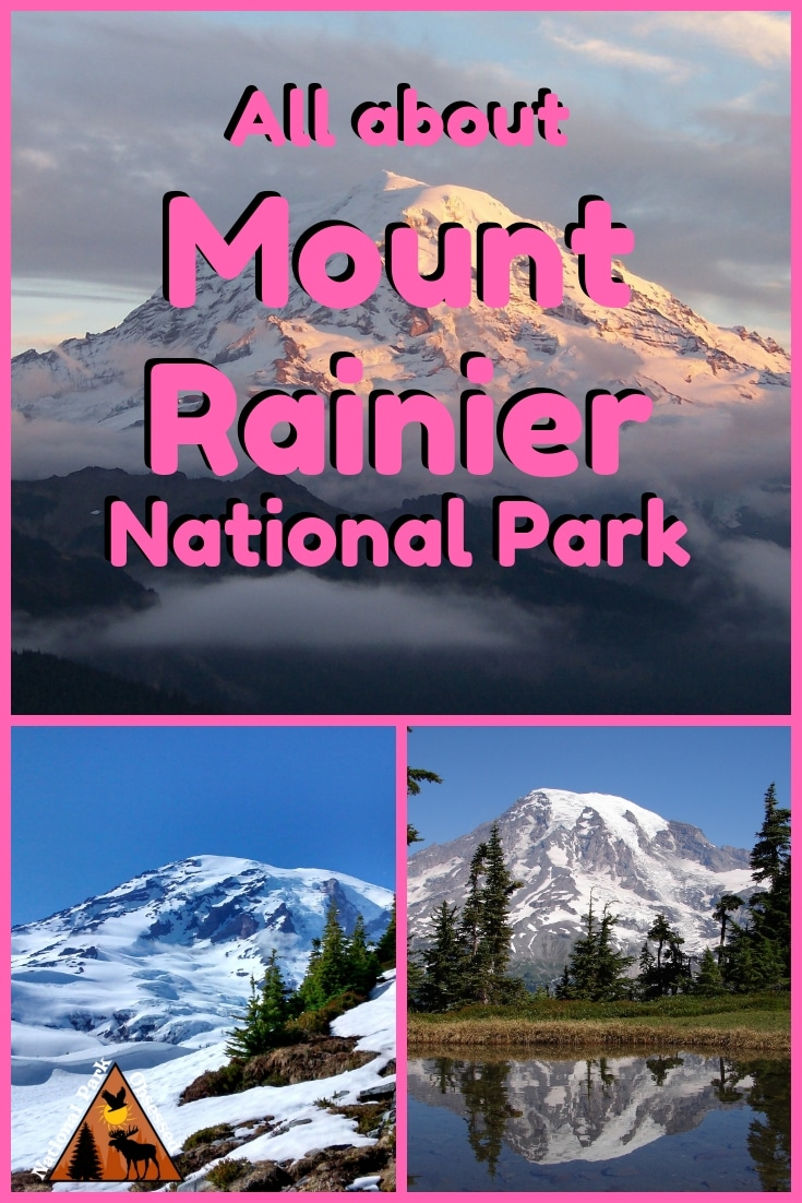 Planning to visit Mount Rainier National Park, Washington, USA? Don\'t know where to start. Let National Park Obsessed help you plan your trip to #MountRainier with guides, itineraries, things to know and much much more.  #nationalparkobsessed #nationalparks #nationalpark #nationalparkgeek #findyourpark