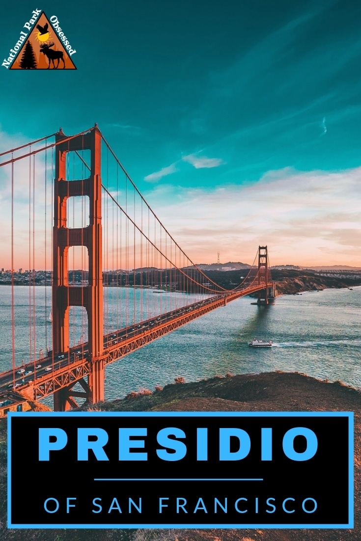The Presidio of San Francisco is a unique part of Golden Gate National Recreation Area. Here are the best things to do in the Presidio of San Francisco #nationalparks #nationalpark #SanFrancisco #goldengate #presido #presidoSanFrancisco