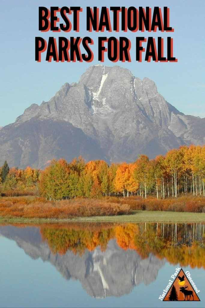 Looking for the best national parks for a fall getaway?  Here are National Park Obsessed's favorite national parks to visit in fall.  Fall National Parks | National Parks for Fall | Fall National Park Getaway | Fall Destinations | National Park Destinations | national park photography | Autumn Getaways | Autumn National Parks |