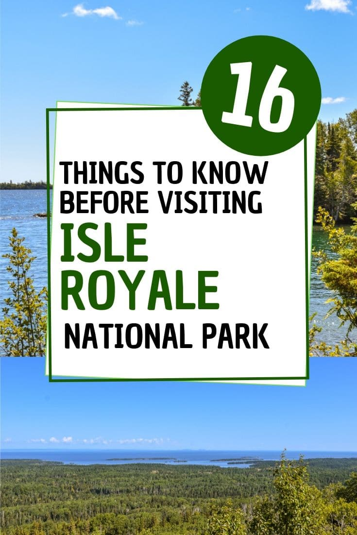 Planning a trip to Isle Royale National Park and don\'t know where to start? Here are 16 things to know before visiting Isle Royale National Park