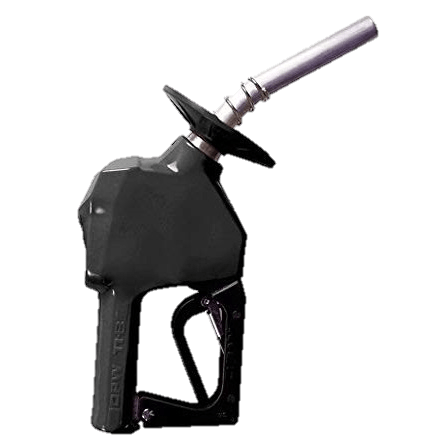 OPW 11B Automatic Nozzle with Leaded Spout and Splash Guard