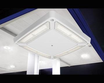 LSI Scottsdale Vertex LED Canopy Lighting