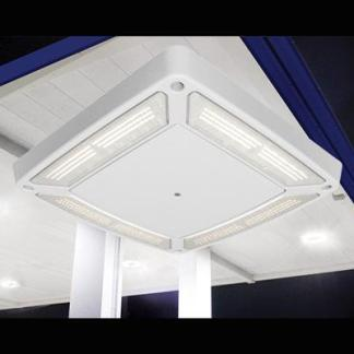 LSI Scottsdale Vertex LED Canopy Lighting