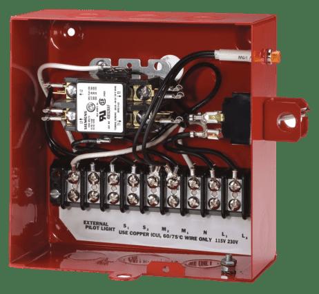 Red Jacket Standard Control Box
