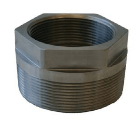 Morrison Bros 184S Stainless Steel Double Tapped Bushing