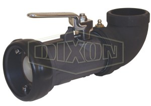 Dixon Bayonet Style Dry Disconnect 90° Swivel Coupler x Female NPT