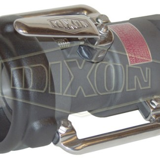 Dixon Bayonet Style Dry Disconnect Straight Swivel Coupler x Female NPT
