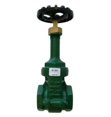 Morrison Bros 535DI Threaded Gate Valve with Expansion Relief - Ductile Iron