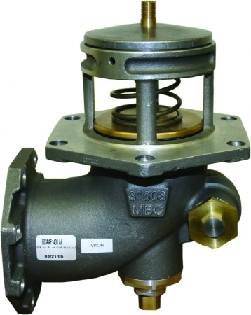 Morrison Bros Emergency Valve, Flanged, Air-Actuated