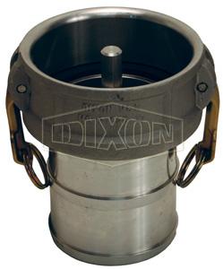 Dixon® Vapor Recovery Coupler x Hose Shank