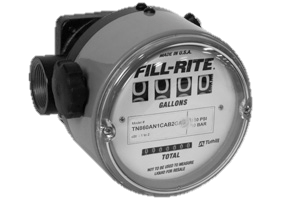 "Fill Rite TN860 1.5"" High Flow/Pressure Meter"