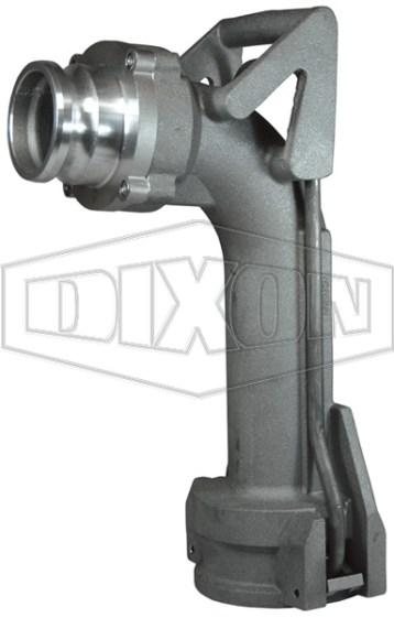 Dixon Vapor Recovery Elbow Push-on Style
