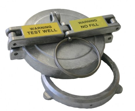"""Morrison 305XA Test Well Cap and Adaptor (For 4"""" PVC)"""