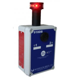Morrison Bros 918DB Tank Alarm with Rotating Beacon