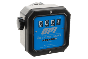 GPI MR 5-30-G8N Gallon Aviation Fuel Meter