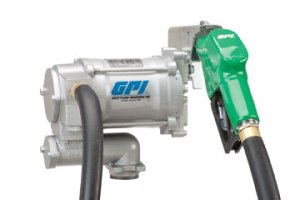 GPI® M-3120-AD 115VAC Heavy Duty Fuel Pump with Automatic Nozzle