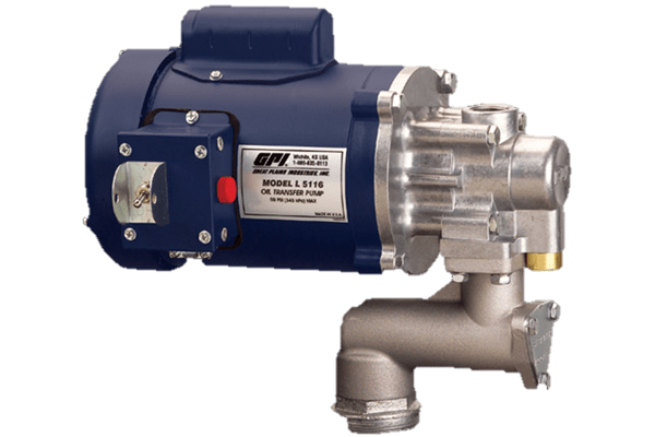 GPI® L5116 115VAC 1/2 HP OIL PUMP - National Petroleum Equipment