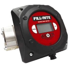 "Fill-Rite 900CDBSPT 1"" Digital Display Meter, BSPT Threaded"