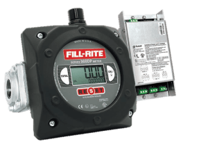"Fill-Rite 900CDPBSPT 1"" Digital Display Meter with Pulser Barrier, BSPT Threaded"