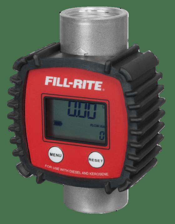 "Fill-Rite FR1118A10 1"" In-Line Digital Meter"