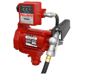 Fill Rite FR701VL 115 Volt AC Pump with with 807CL Liter Mechanical Meter