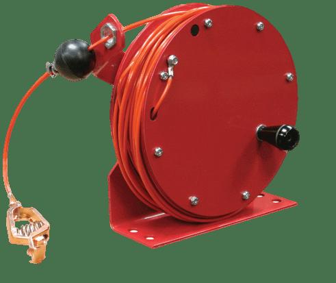 Reelcraft 100' Hand Crank Grounding Reel