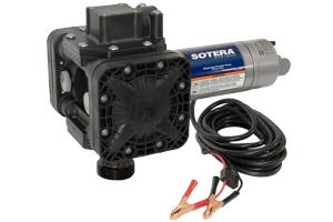 Fill Rite SS415BX670 12VDC Diaphragm Pump with 90°NPT Port