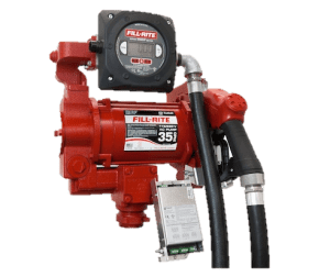 Fill Rite FR319VBP 115/230VAC Pump with Automatic Nozzle, Digital Meter and Pulse Output
