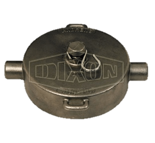 "Dixon 3"" Stainless Steel Intermodal Tank Transport Pipe Cap"