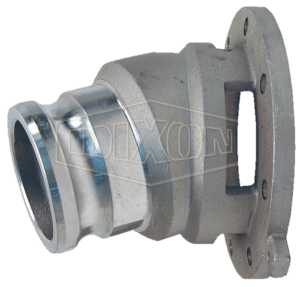 "Dixon 3"" API Flanged Drop Adapter with Sight Glass"