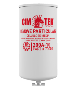 "CimTek 200A-10 Series 1"" Filter w/ Drain"