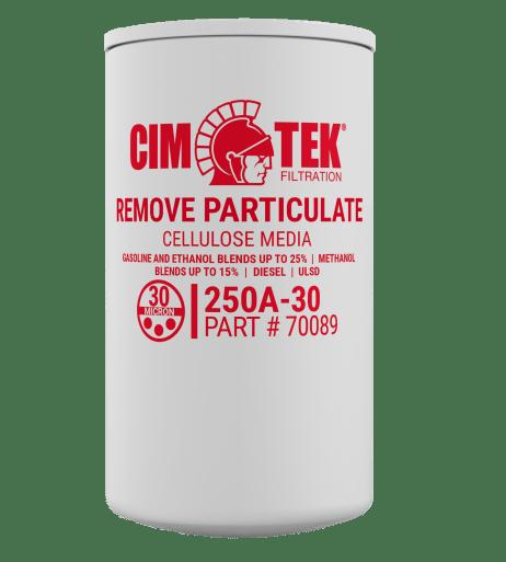 """CimTek 250A-30 Series 1"""" Pariculate Filter"""