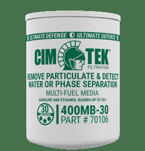 "CimTek 400MB-30 1"" Ethanol Monitor Filter"