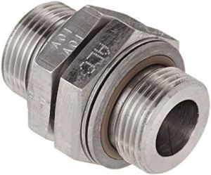 "¾"" x ¾"" BSPP Stainless Steel Pipe Union.  Used to Attach 825D075BSPPS DEF Meter to ¾"" BSPP Threaded  FRSA, FRSD, and SV20 Series Stainless Steel Pumps"