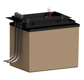 Bravo B-9000-D-AB Jumbo Deep Monitored DoubleWall Dispenser Sump