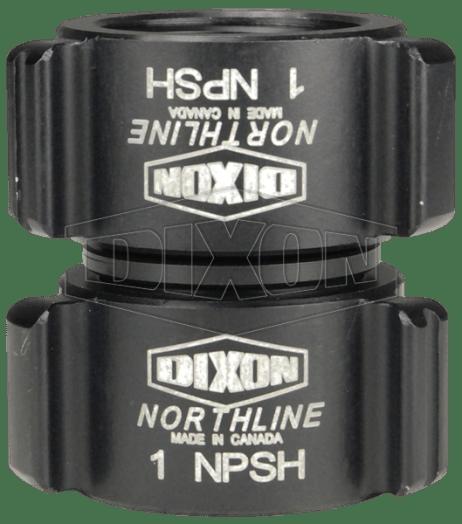 "Dixon 1"" Style N35 Double NPSH Swivel Thread Rocker Lug"
