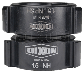 "Dixon 1"" Style N35 Double Female NPSH x NST Thread Swivel Rocker Lug"