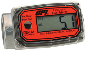 GPI 01A31GMME 01A Red Turbine Methanol Meter