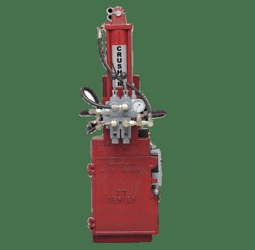 BJE TT-25 Pneumatic Oil Filter Crusher