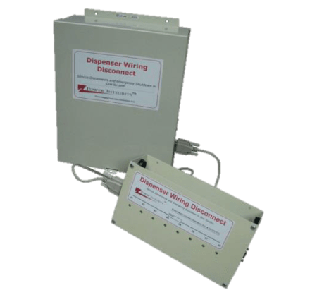 Power integrity DDS-8DM4GE Dispenser Wiring Disconnect