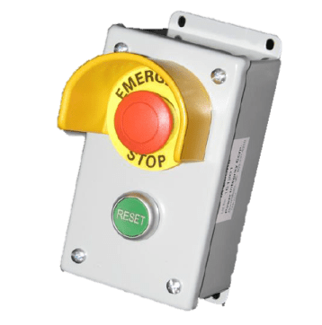 Power Integrity Indoor Rated Cashier Control Emergency Stops