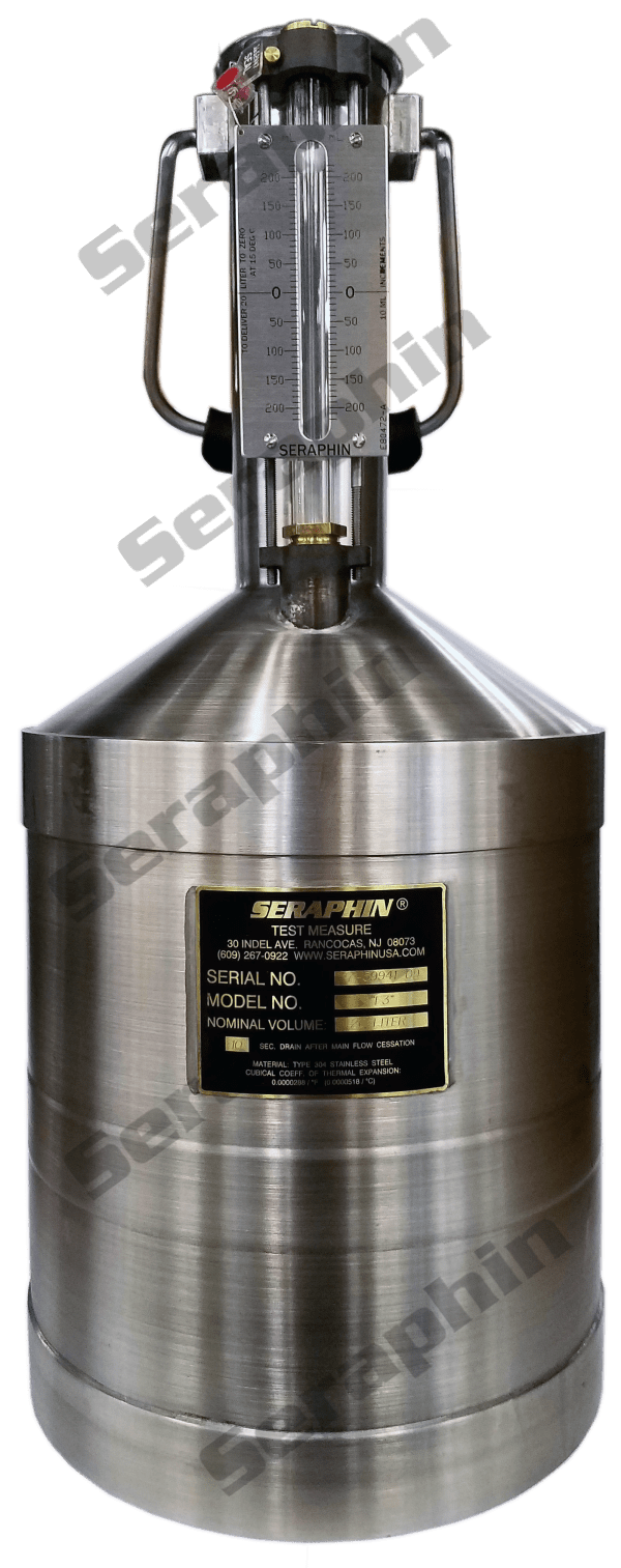Seraphin 20 Liter Stainless Steel Calibration Can