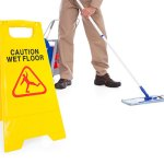 Cleaning an Epoxy Floor