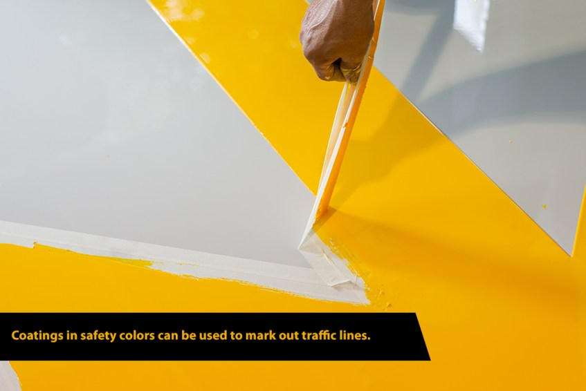 Safety Yellow Floor Coating