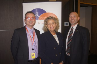 L-R: National Rural Press Club, Colin Bettles, Fiona Simson, Tim Lester